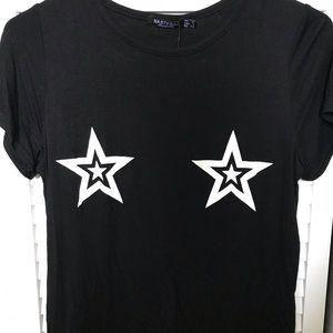 Nasty Gal Star T-shirt